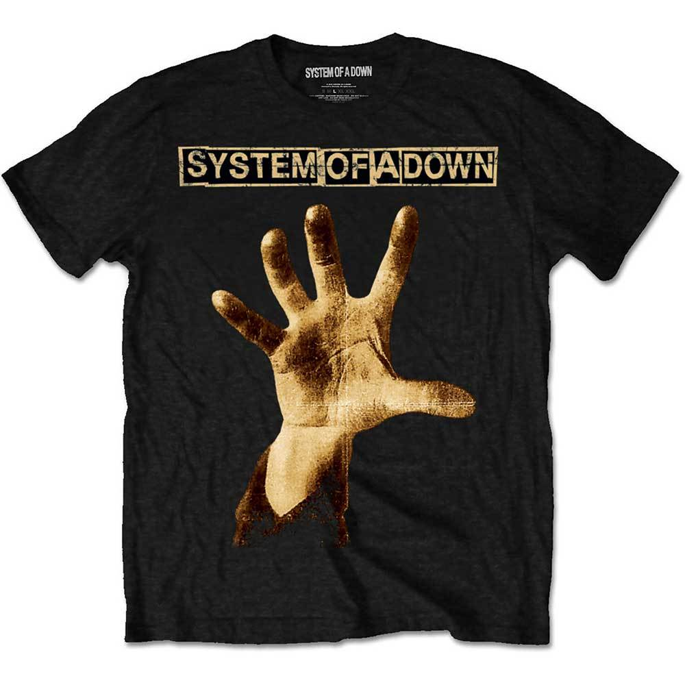 SYSTEM OF A DOWN Hand Tshirt (Size L).jpg
