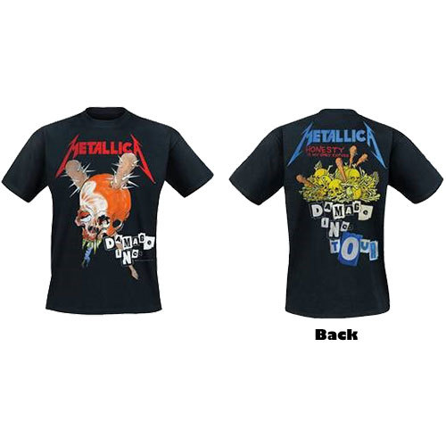 METALLICA Damage Inc Tshirt with back design (Size 2XL).jpg