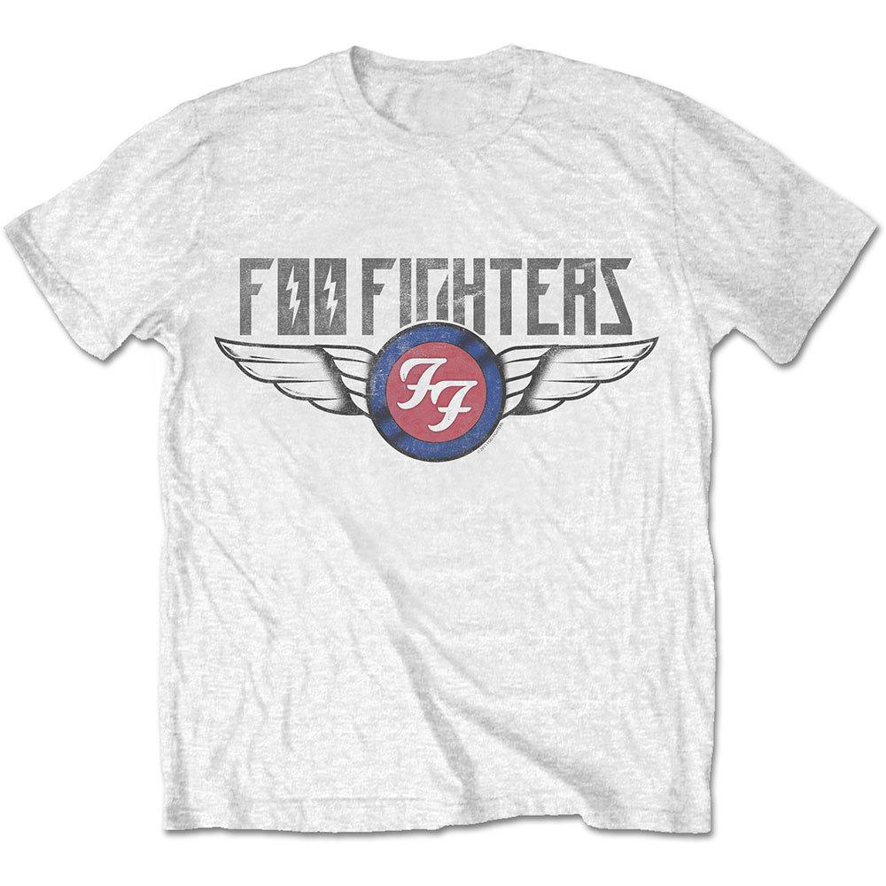 FOO FIGHTERS Flash Wings Tshirt (Size M).jpg