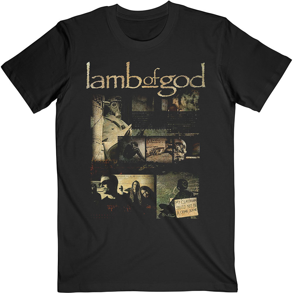 LAMB OF GOD Album Collage Tshirt (Size XL).jpg