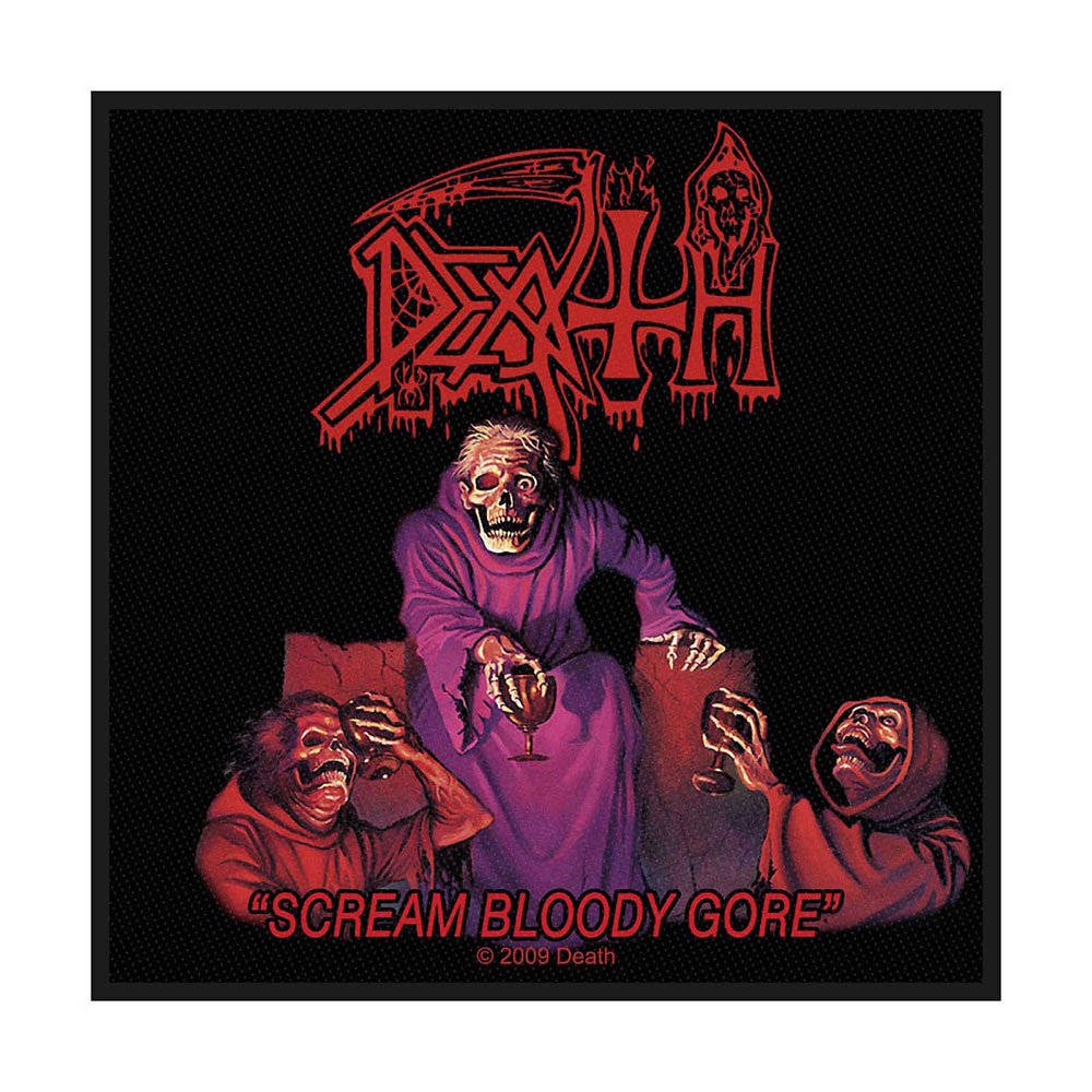 DEATH Scream Bloody Gore Patch.jpg
