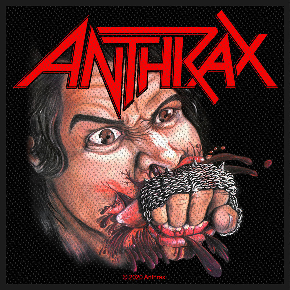 ANTHRAX Fistful of Metal Patch.jpg