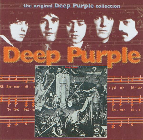 DEEP PURPLE Deep Purple (Reissue, Remastered, Repress) CD.jpg
