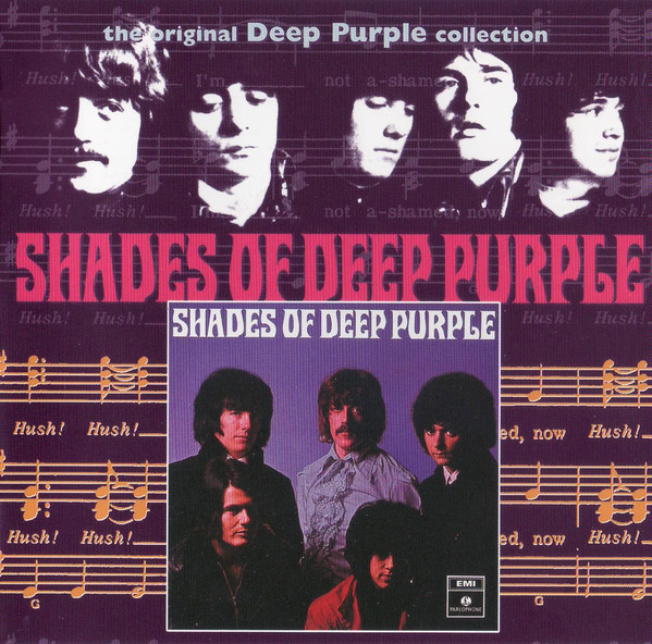 DEEP PURPLE Shades Of Deep Purple (Reissue, Remastered, Repress) CD.jpg