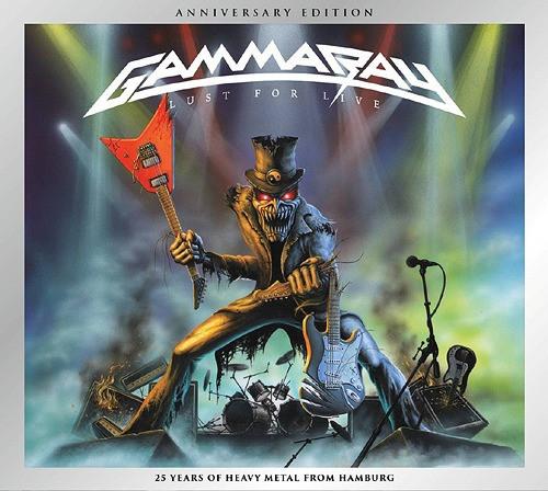 GAMMA RAY Lust For Live (Reissue, Remastered, Anniversary Edition, Digipak) CD.jpg