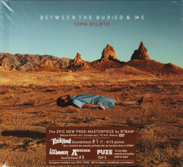BETWEEN THE BURIED AND ME Coma Ecliptic (Deluxe Edition, Limited Edition, Digibook) CD + DVD.jpg