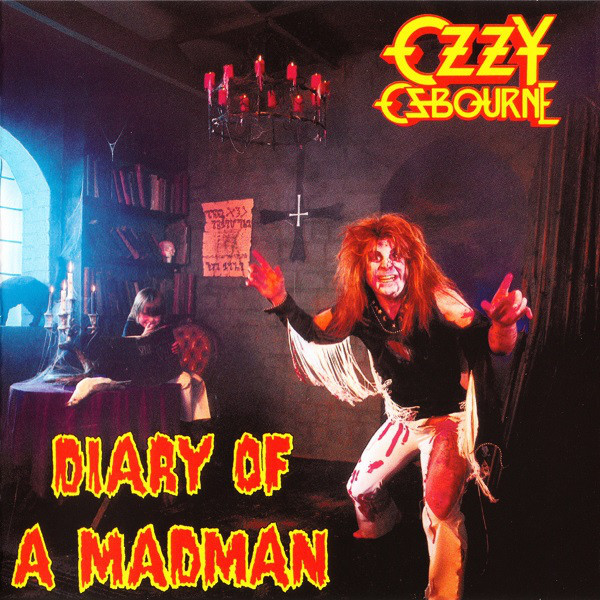 (Used) OZZY OSBOURNE Diary of A Madman CD.jpg