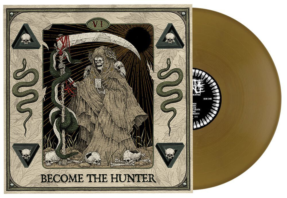 SUICIDE SILENCE Become The Hunter (Limited Edition, Gold) LP.jpg