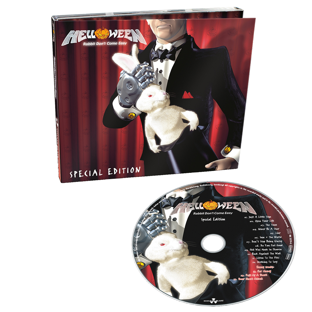 HELLOWEEN Rabbit Don't Come Easy (Limited Edition, Reissue, Special Edition, Digipak) CD.png