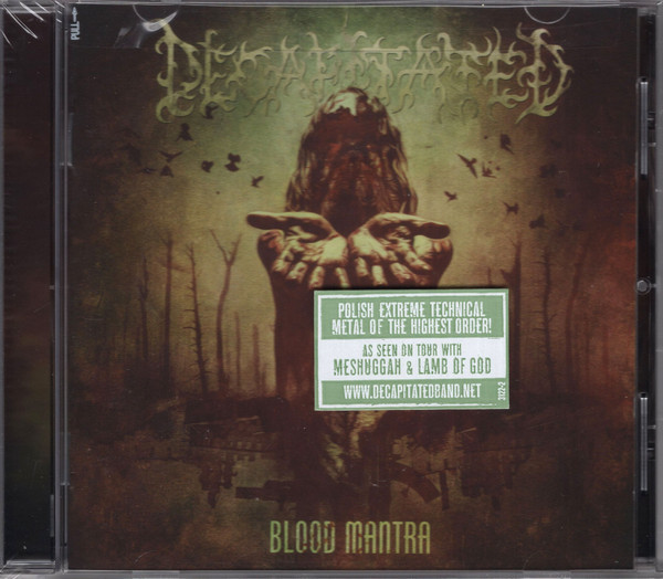 DECAPITATED Blood Mantra CD.jpg
