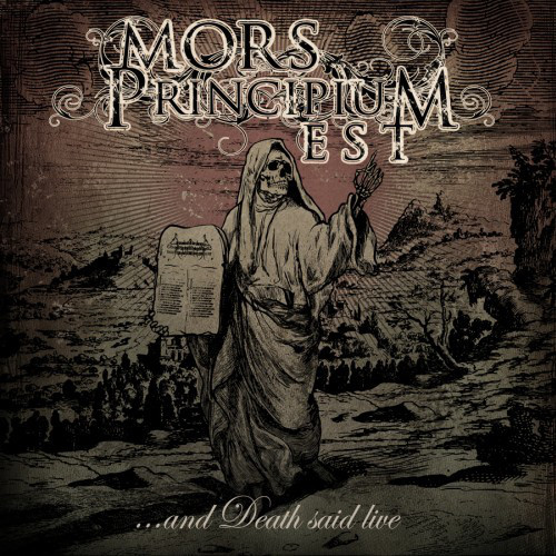 MORS PRINCIPIUM EST ...And Death Said Live CD.jpg