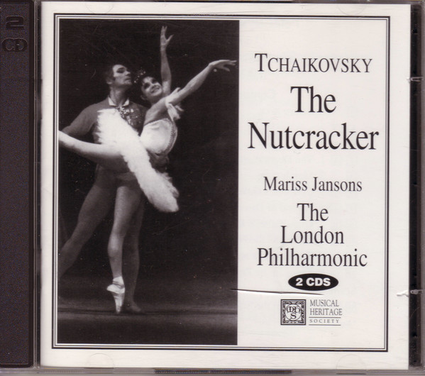 TCHAIKOVSKY Mariss Jansons, The London Philharmonic Orchestra, Ronald Corp The Nutcracker CD.jpg