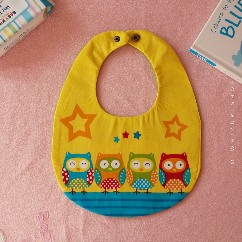 Baby Bib - Yellow 1.png