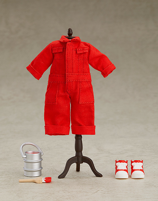 Nendoroid Doll- Outfit Set (Colorful Coveralls - Red).jpg