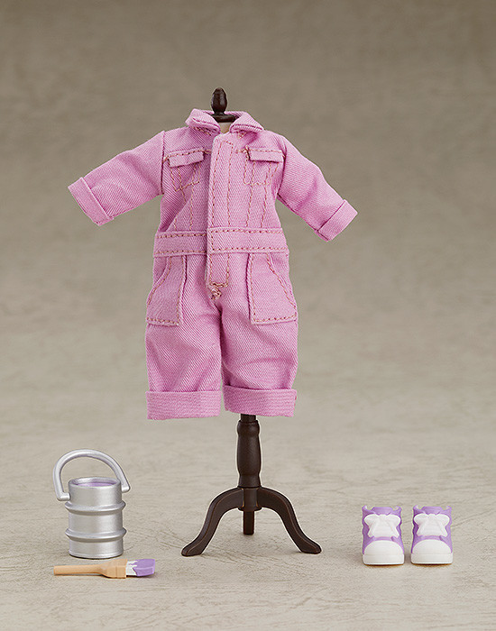 Nendoroid Doll- Outfit Set (Colorful Coveralls - Purple).jpg