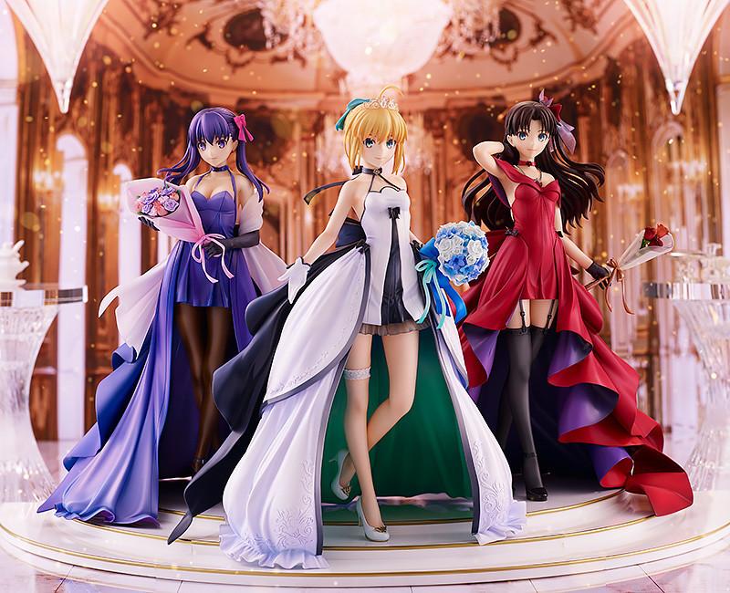 Saber, Rin Tohsaka and Sakura Matou.jpg