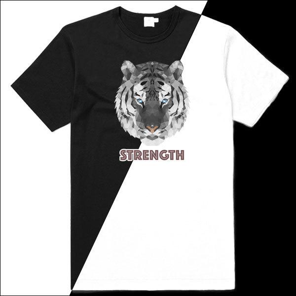 POL003-WhiteTigerStrength-BW-Shirt.jpg