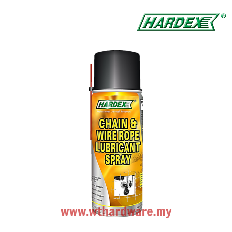 Hardex Chain & Wire Rope Lubricant Spray HD500.png
