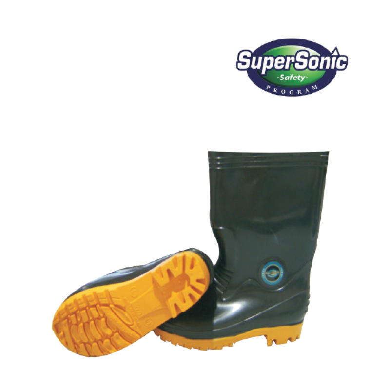 Supersonic Black Rain Boot.png