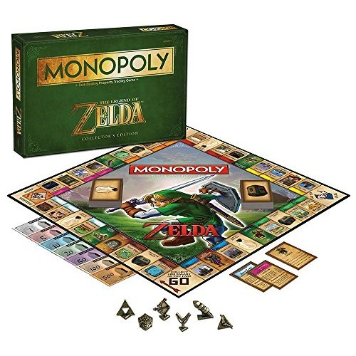 Hasbro Monopoly Legend of Zelda Collector's Edition Board Game 5.jpg