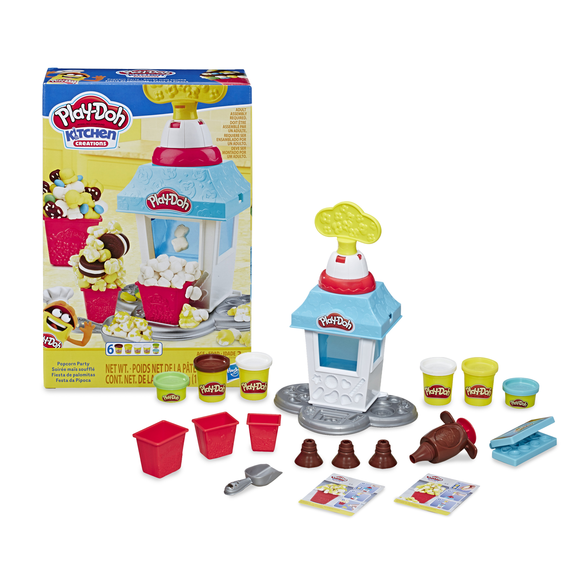 Play-Doh Kitchen Creations Popcorn Party Play Food Set .jpg