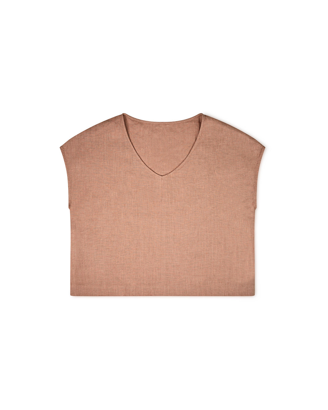 anna-t-shirt-misty-rose-women-linen-matona-front
