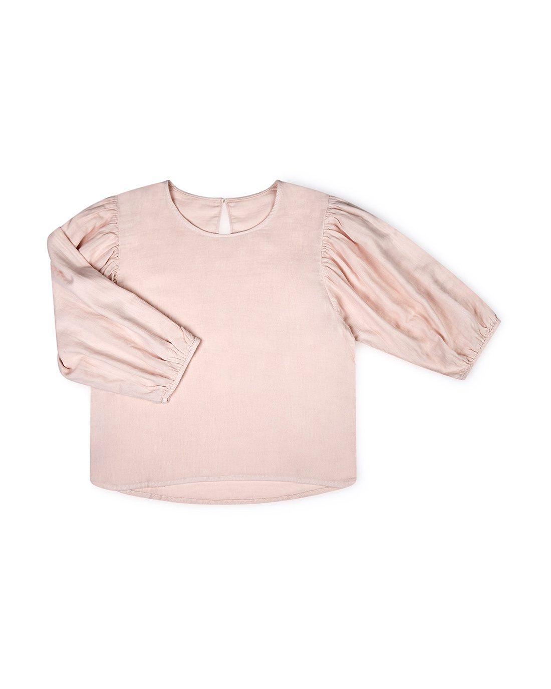 jule-blouse-blush-organic-cotton-matona-front