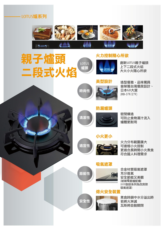 林內瓦斯爐 RB-F212G檯面式LOTUS兩口爐LED旋鈕.jpg