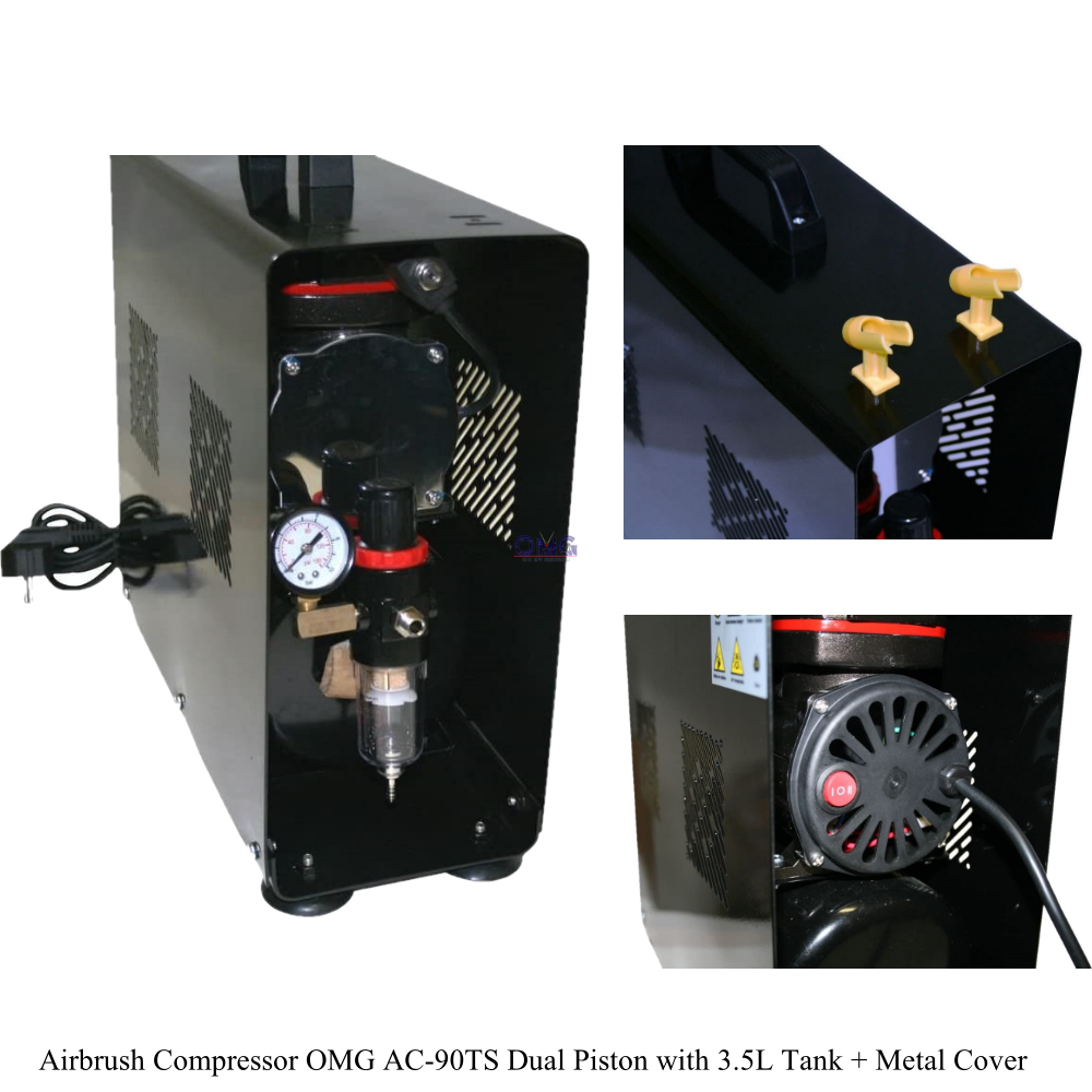 Airbrush Compressor OMG AC-90TS Dual Piston with 3L Tank + Metal Cover 1.6 (2).png
