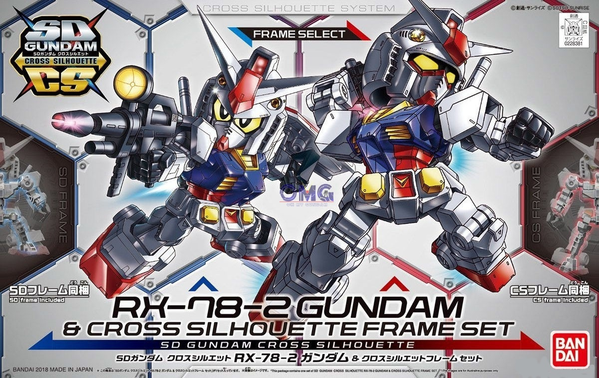 SD Gundam Cross Silhouette RX-78-2 & Cross Silhouette Frame Set 1.0.jpg