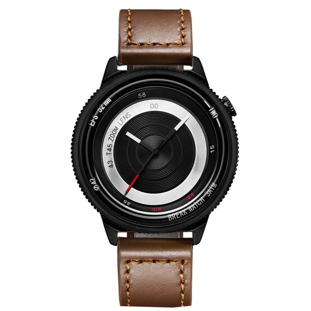 Lens Black Break Watches Brown Leather.jpg