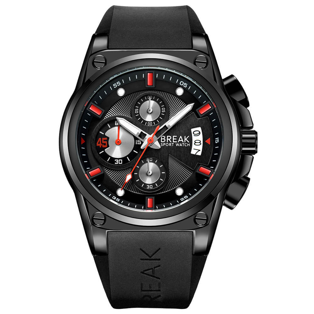 Survival Break Watches Black red pointer by break watches co.jpg