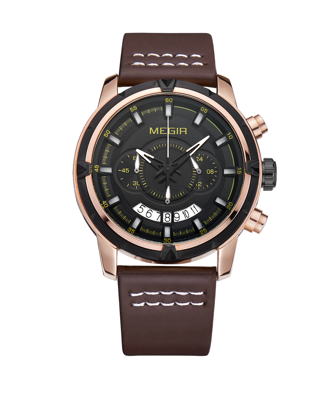 Cosmo Megir Watches Gold Case Brown Leather (3).jpg