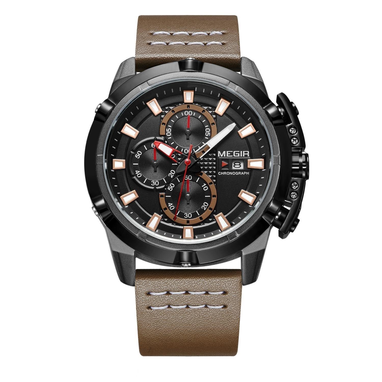 Hunter Brown Chronograph Megir Watches (3).jpg