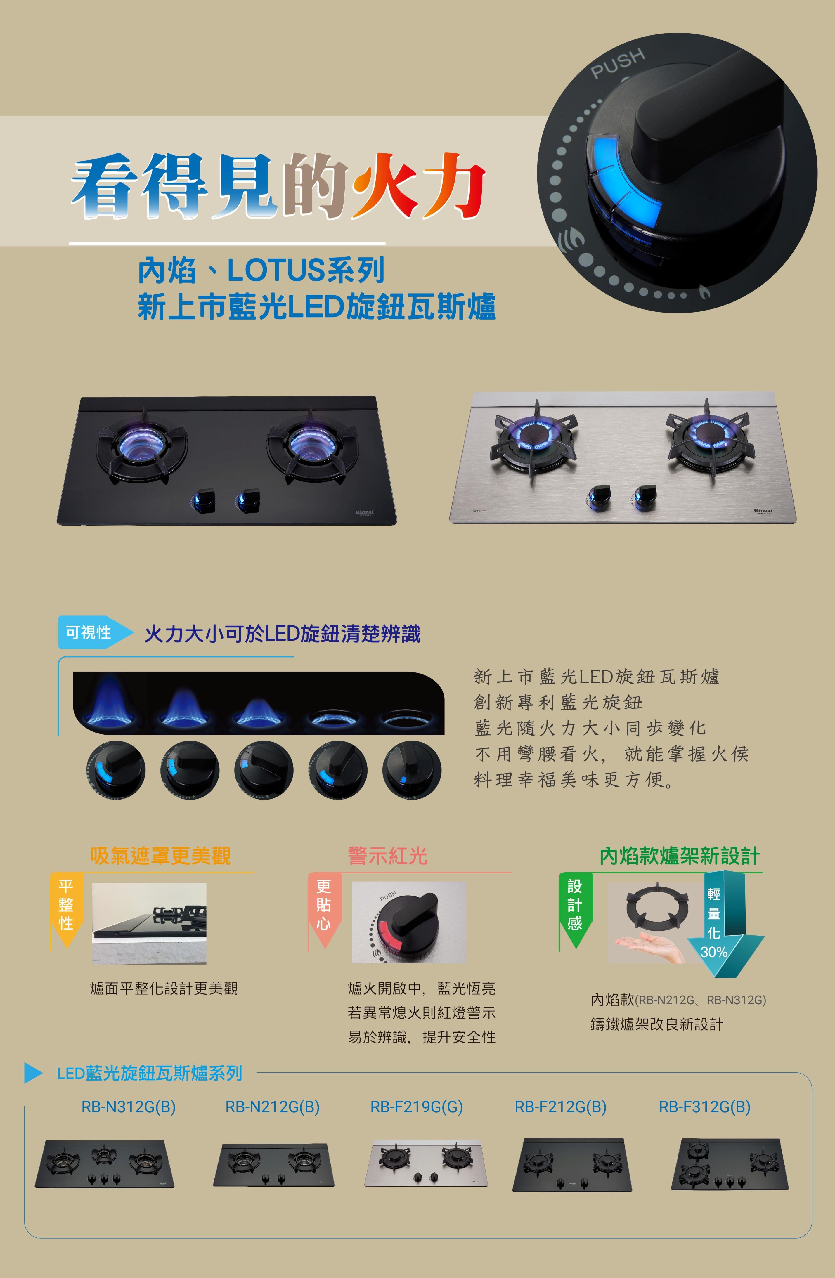 林內瓦斯爐RB-F212G(B)檯面式玻璃LOTUS二口爐LED旋鈕.jpg