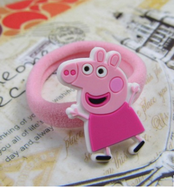 Peppa Pig Rubber Band (Pink Dress).png