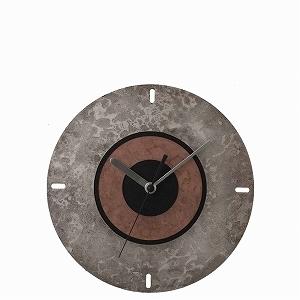 富山-折井ORII-同心圓時空掛鐘(圍繞)斑紋純銀色,荒銅色.jpeg
