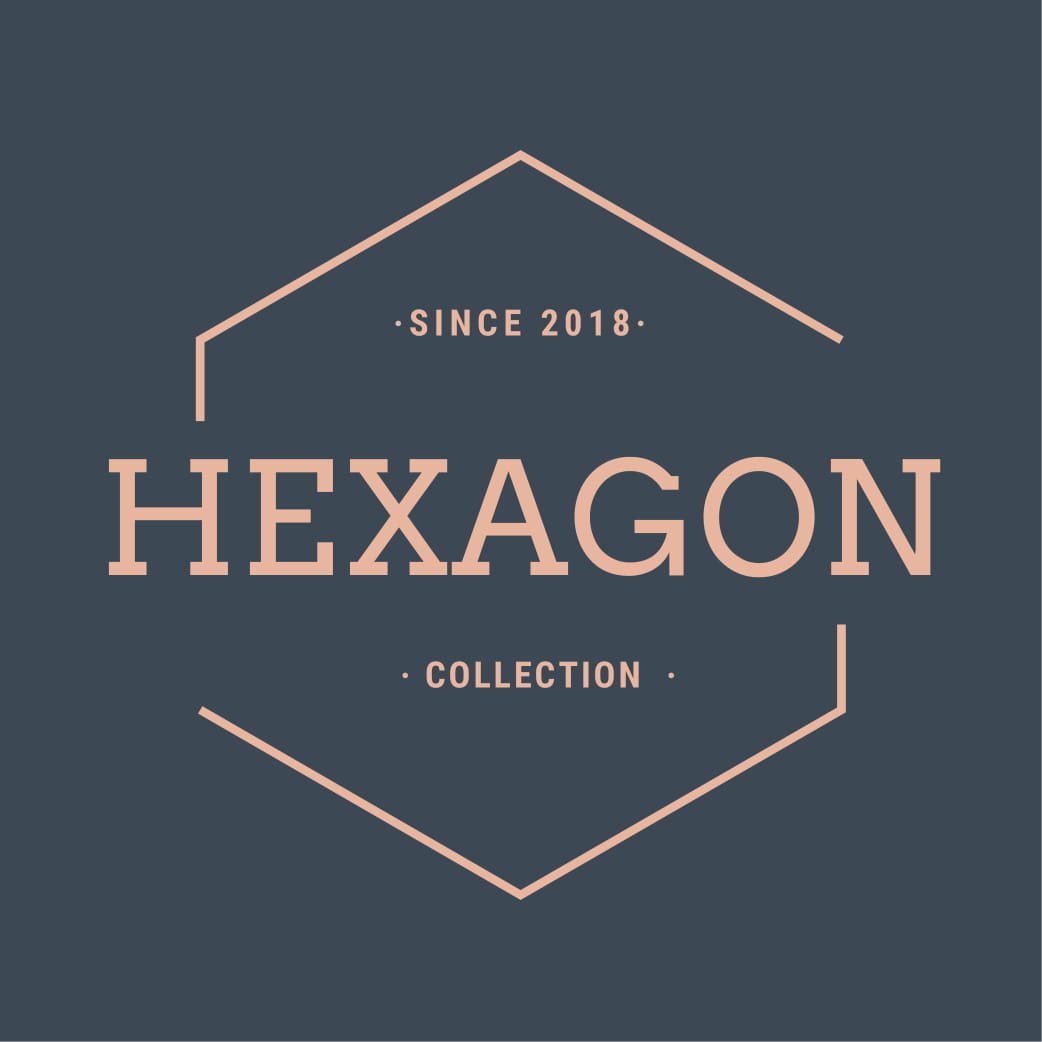 Hexagon label