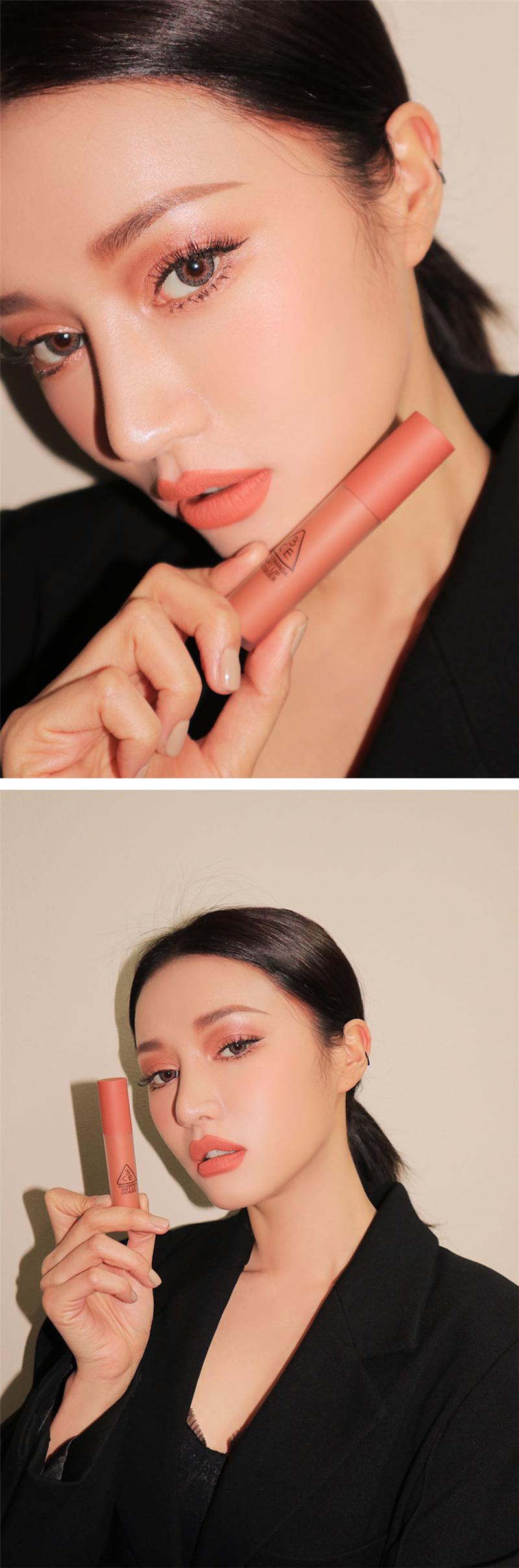 3ce Soft Lip Lacquer - Peach Tea D03.jpg