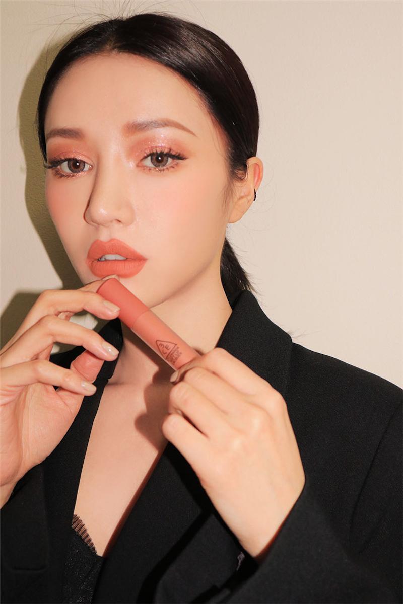 3ce Soft Lip Lacquer - Peach Tea D04.jpg