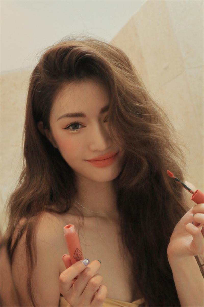 3ce Soft Lip Lacquer - Peach Tea D08.jpg