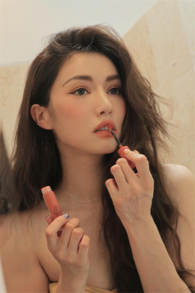 3ce Soft Lip Lacquer - Peach Tea D09.jpg