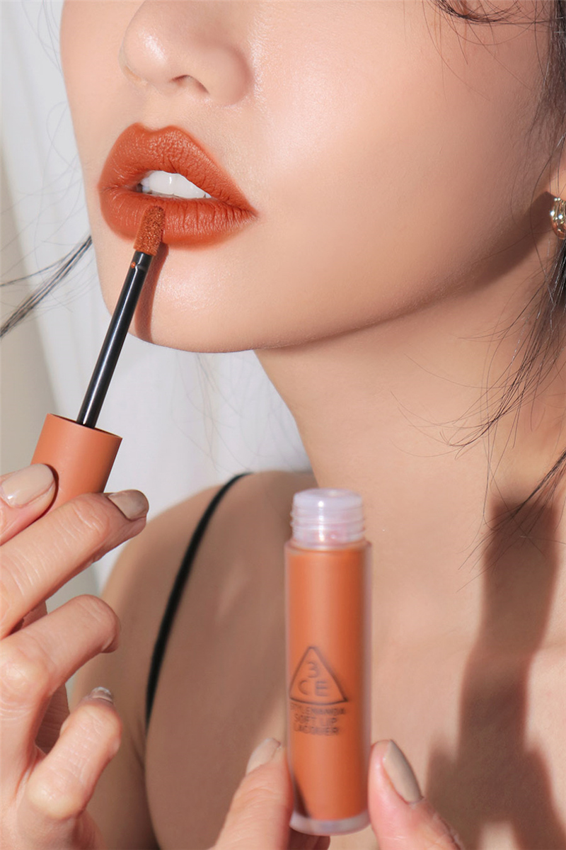 3ce Soft Lip Lacquer - Tawny Red D05.jpg