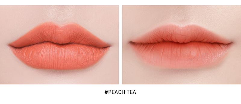 3ce Soft Lip Lacquer - Peach Tea D10.jpg