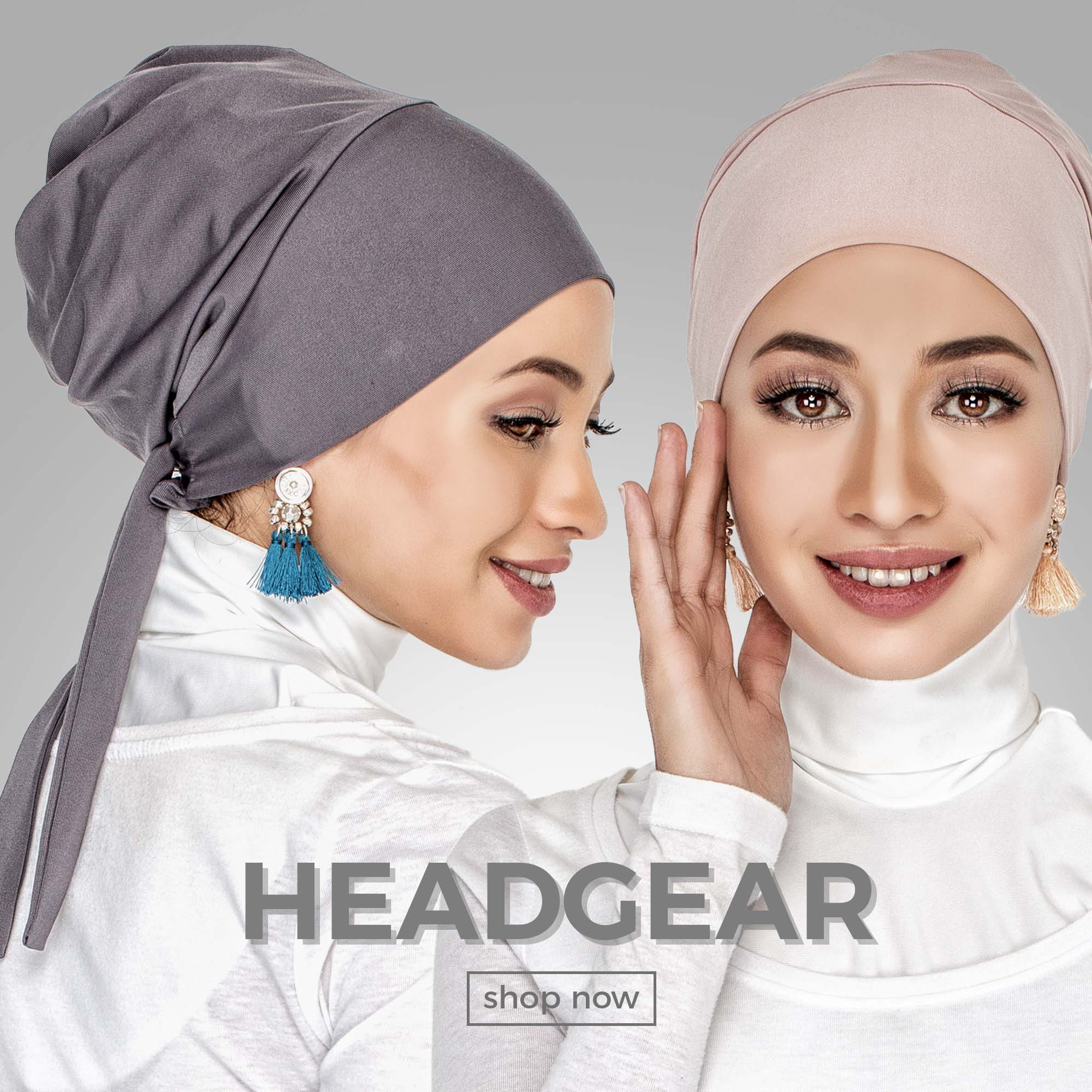 Head gear collection by AIRAZ InnerSejuk