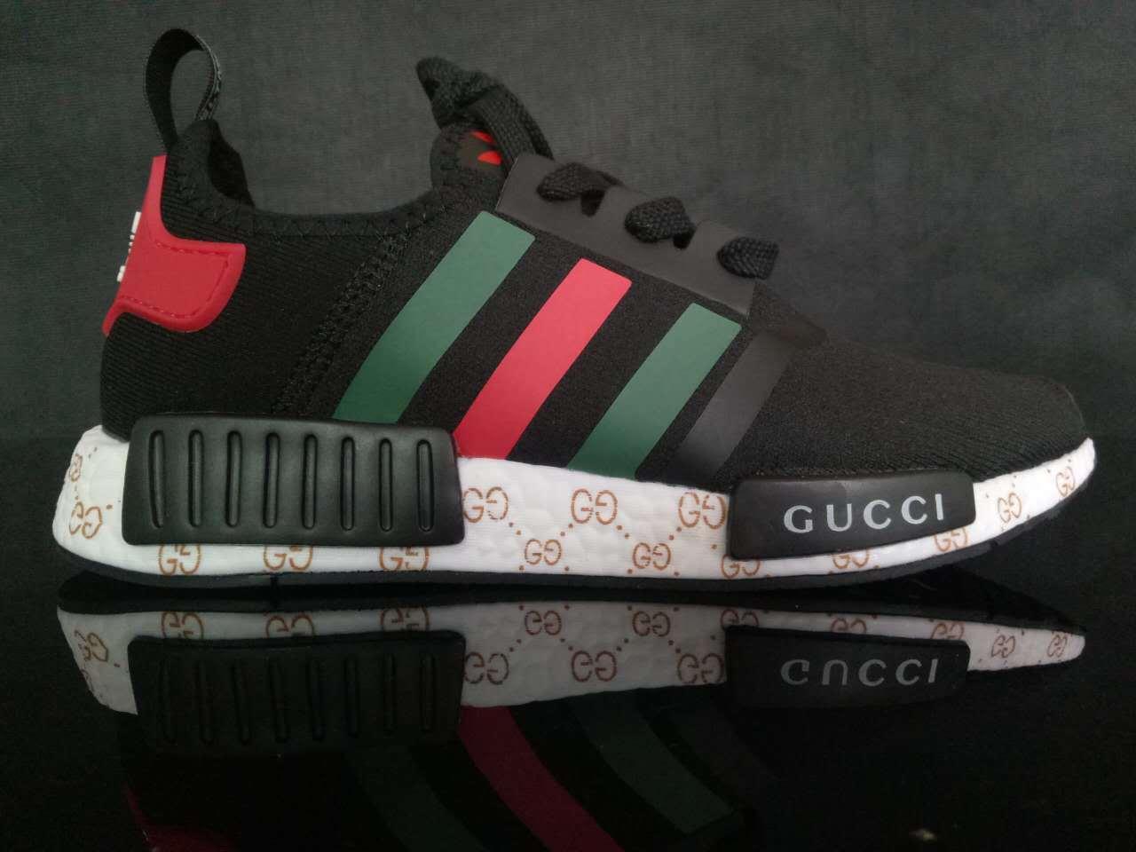 Gucci x Adidas NMD Black – Sally House