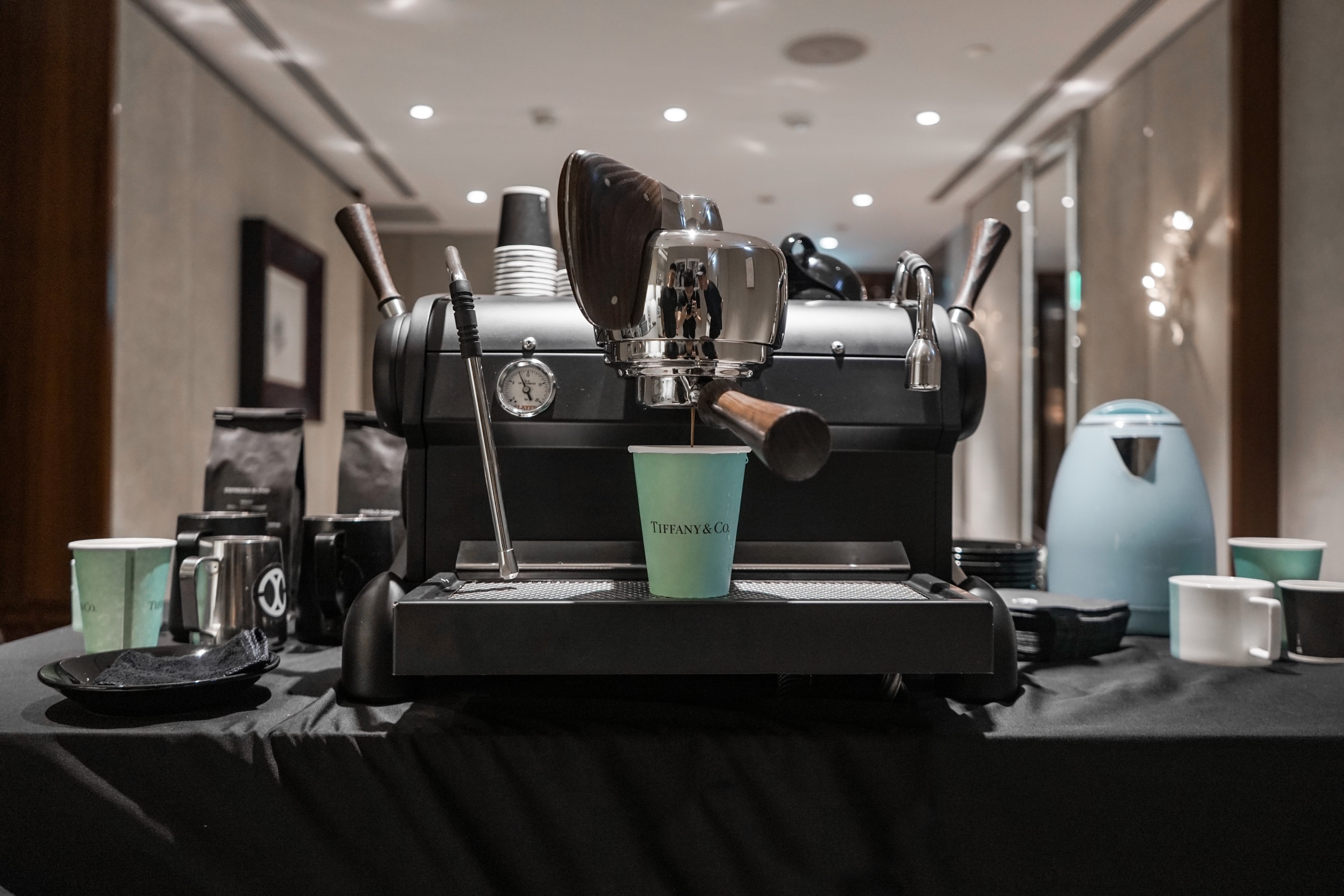 Tiffany & Co. Exclusive Coffee Workshop