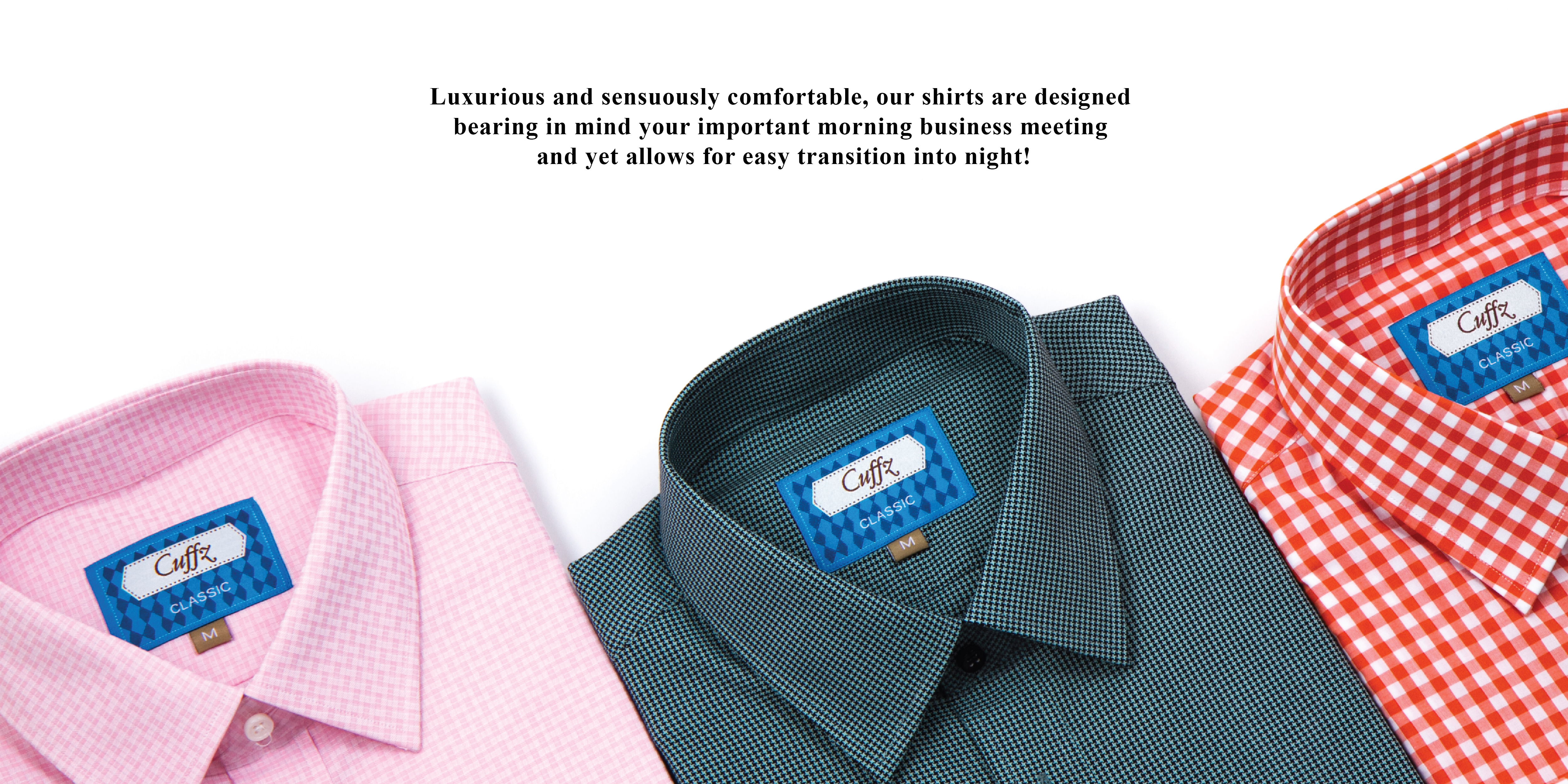 Premium cotton shirts