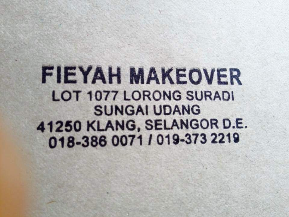 Fieyah Makeover Beauty