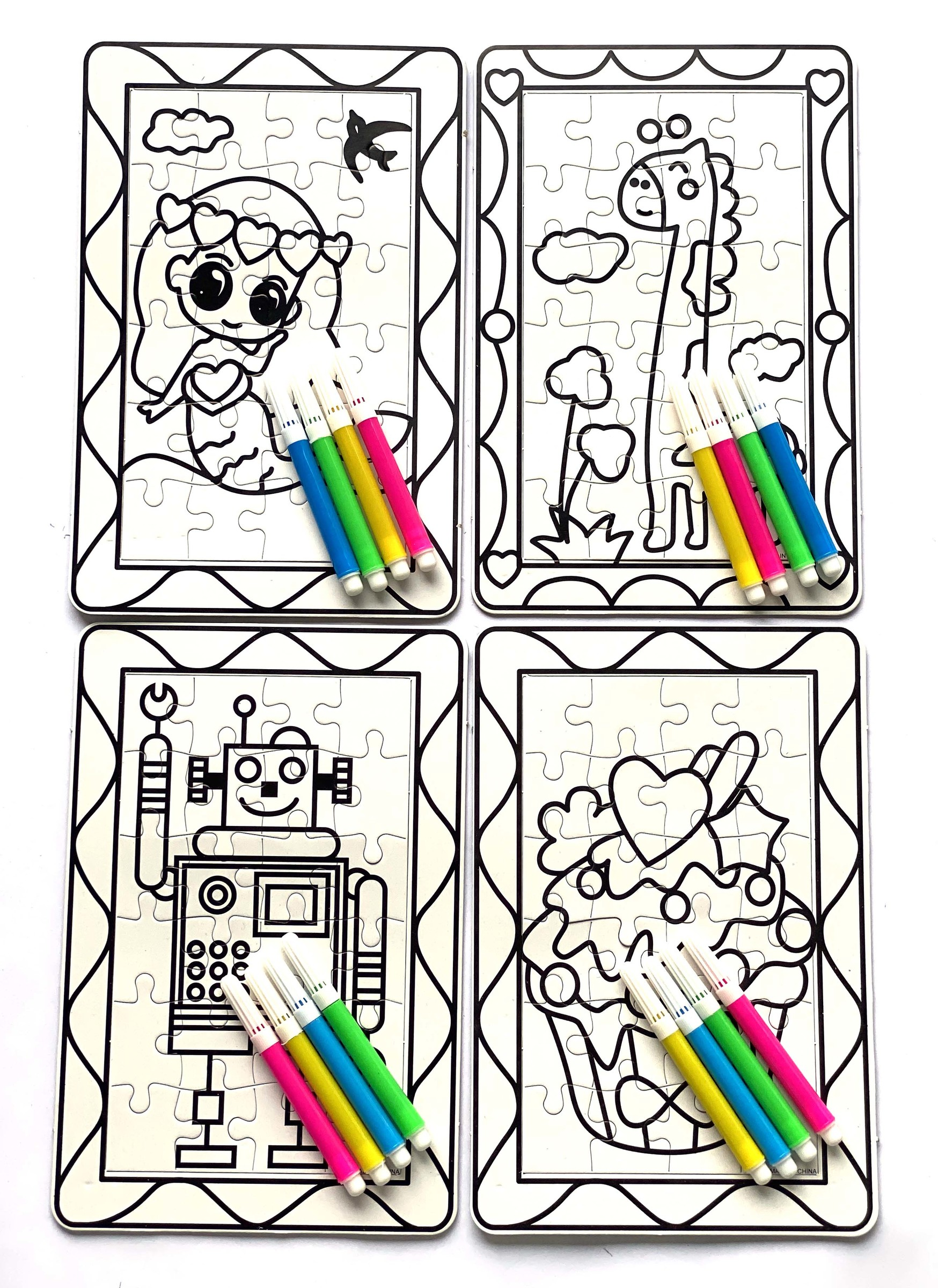 A5 Coluring Puzzle with markers 2.jpg